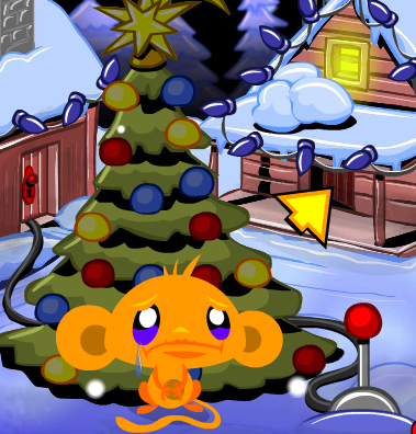 Monkey go happy XmasTree